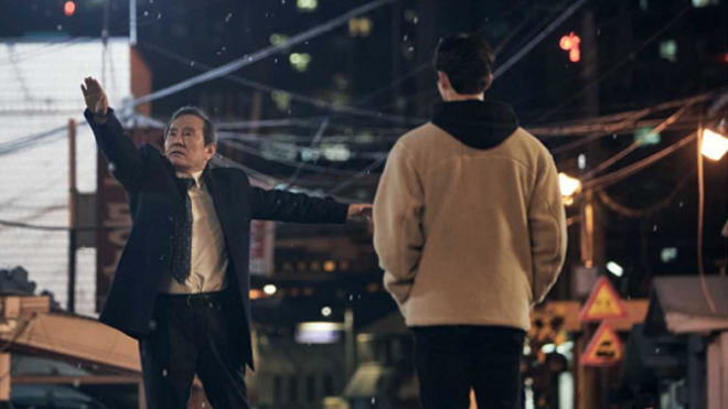 ナビレラ(Netflix)チェロクの前でバレエを踊るおじいちゃん
