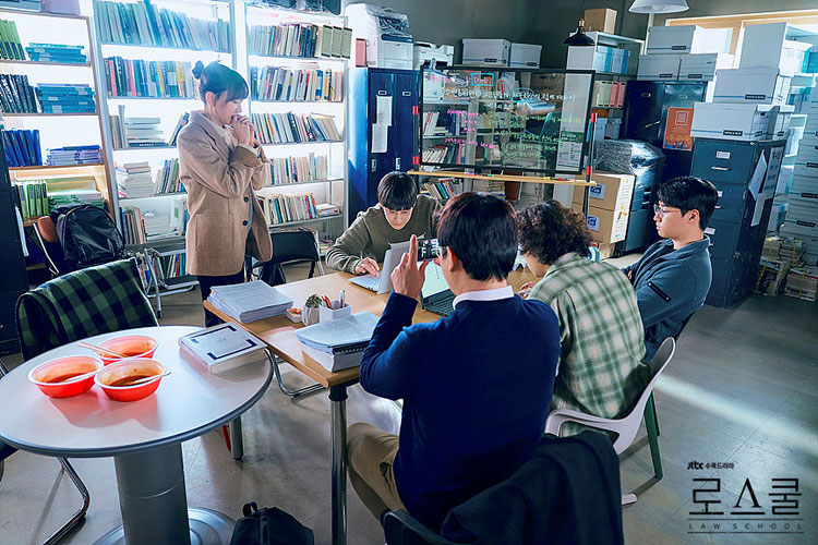 韓国ドラマ「ロースクール」の学生たち